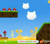 Hra - Angry Birds Cannon 3