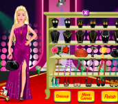 Hra - Barbie Red Carpet Dress Up