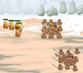 Hra - 4 Warriors
