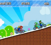 Hra - Mario Moto X