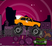 Monster truck zombies crusher