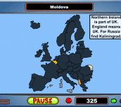 Hra - Geography Game - Europe