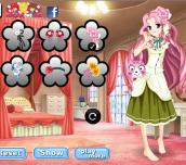 Anime Flower Princess