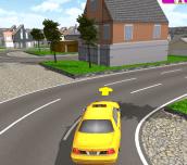 Hra - Taxi Parking 3D