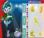 Hra - Monster High Lagoona in Dance Class