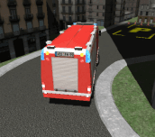 Hra - 3D Fire Fighter Parking