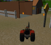 Hra - Tractor in Farm