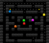 Hra - Blue Pacman