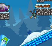 Hra - Zombie Launcher Winter Season