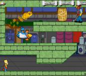 Hra - Bart Simpson Zombie Kaboom