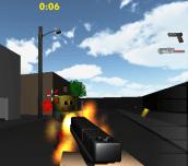 Hra - Minecraft Zumbi Blocks 3D