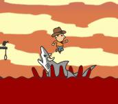 Hra - Shark Rodeo
