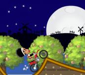 Uncle Merid Rides Motorcycle