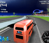 English Bus 3D Racing