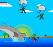 Hra - Shark Rampage