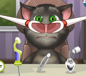 Hra - Talking Tom Nose Doctor