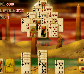 Pyramid Solitaire Mummy's Curse