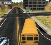 Hra - Park It 3D School Bus 2