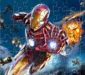 Hra - Iron Man Puzzle