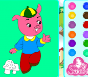 Hra - Jolly Pigs Coloring