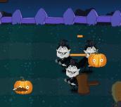 Halloween Pumpkin Warrior