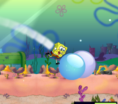 Hra - Spongebob Bubble Parkour