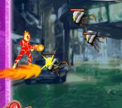 Hra - Ben 10 Heatblast Attack