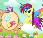 Hra - Fluttershy My Little Pony Rainbow Power Style