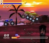 Hra - Monster Truck Assault