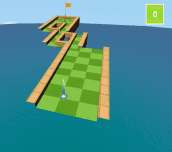 Hra - Impossible Miniature Golf