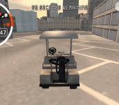 Golf Cart City Driving Sim