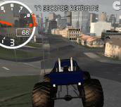 Hra - Monster Truck City Driving Sim