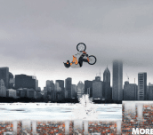 Hra - Winter BMX Jam