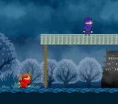 Hra - Rekido Red Ninja Kid Princess Rescue