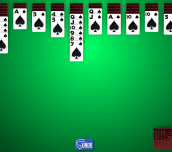 Hra - 1 Suit Spider Solitaire
