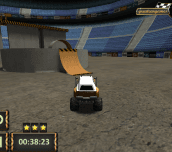 Hra - Monster Truck 3D Arena Stunts