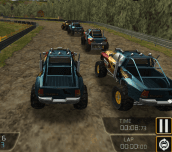 Hra - Monster Truck Jam Racing