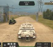 Hra - Warrior Tank 3D Racing
