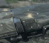 Hra - Mud Trucks Hidden Numbers