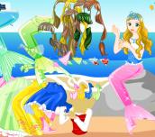 Hra - Oblíkačka mořské panny