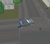 Rusty Car Against Zombies 3D