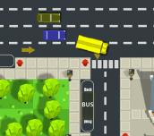 Hra - School Bus Parking Frenzy 2