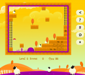 Hra - Sheep Hunter HTML5