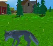 Hra - Wolf Simulator: Wild Animals 3D