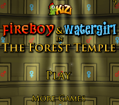 Hra - Fireboy And Watergirl Forest Temple