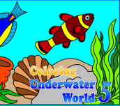 Hra - Coloring Underwater World 5