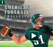 Hra - American Football Challenge