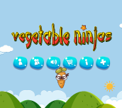 Hra - Vegetable Ninjas