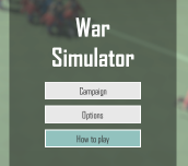 Hra - War Simulator