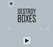 Hra - Destroy Boxes